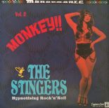 "LP ✦ THE STINGERS ✦ ""Monkey! Vol. 2"" Hypnotising R'n'R. French Exotica Band ♫"